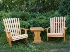Natural tree chairs