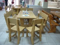 Furniture for cafe and restaurants