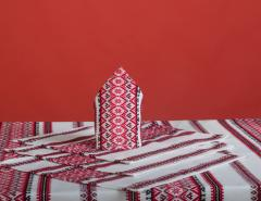 Textiles for hotels Lyubistok embroidered from the