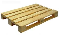 Pallets box wooden