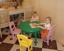 Little table children's wooden