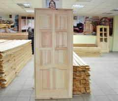 Doors from solid pine