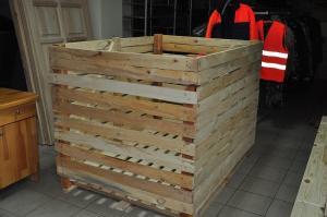 Контейнер овощной деревянный разборный
