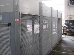 Chiller for cooling of MK190 liquid, 200 kw