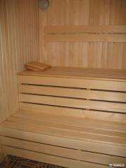 Lining for baths and saunas alder
