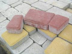 Кирпич облицовочный рваный камень от