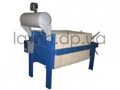 Line filtration of vegetable oils, P-6