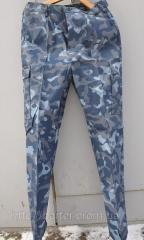 Trousers camouflage on barter