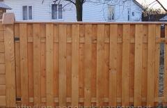 Ограды, заборы деревянные