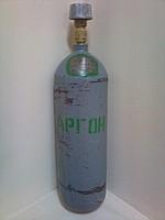 Cylinder argon 4 liters of GOST 949-73