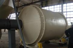 The dryer for bards, pellets, a press, peat,