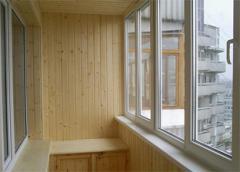 Балконные рамы металлопластиковые