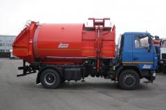 Мусоровоз с боковой загрузкой СБМ -  304/2 (18.5 м³)