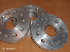 Vorotnikovy, flat, welded flanges, GOST, DIN,