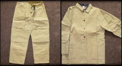 Защитный костюм сварщика (огнеупорный), одежда