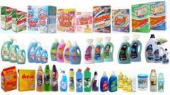 Продукция химическая бытовая: кухня, ванна,