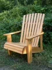 Кресла деревянные для сада и дачи