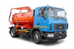 Илососная машина КО - 503ИВ - 12 (8 м³)