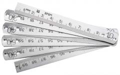Rulers metal with your logo (alyum)