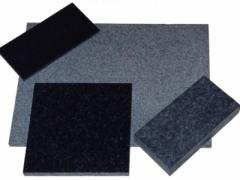 Tile from a gabbro.
