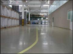 Floors industrial concrete Kouteks for parkings