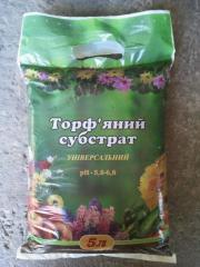 Грунт для клубники, Торфяной субстрат 10 литров,