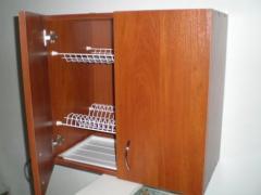 Навесной шкаф из ЛДСП (полочка, сушка для посуды)