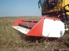 Harvester for cleaning of sunflower of ZhSN 6