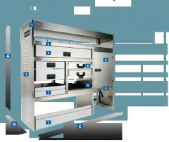 Modular systems of ALUCA - hi-tech furniture, the