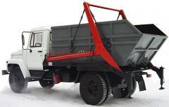 Gantry garbage truck SBM-303/2