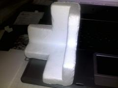 Polystyrene foam packing at the price of the