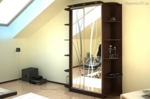 Sliding wardrobes design. PHOTO of a new