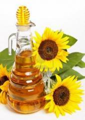 Растительное масло из семян подсолнечника