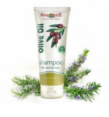 Normal hair shampoo with rosemary on the basis of