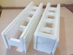 Thermoblock foam (fixed timbering), crumb