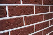 "Brick clinker facing to ""Rustic Clinkers"