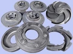 Castings from cast iron weighing up to 400 kg.