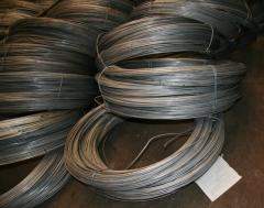 The wire zinced with GOST 3282-74. Production of