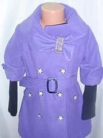 Детское демисезонное, весеннее кашемировое пальто