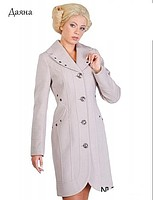 Women's spring cashmere coat of Dayan Nui