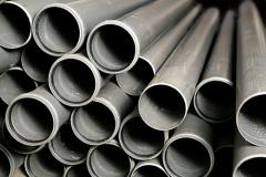 Pipes PVC for the internal and external sewerage,