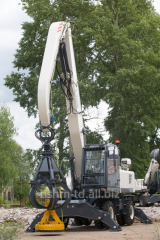 Loading crane of RM-Terex Tvex 180i