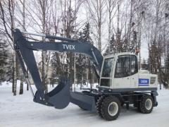 Экскаватор TVEX 140W