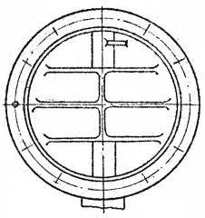 Клапан  круглый ОН 550-03