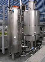 Production capacities from stainless steel