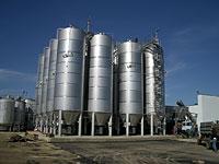 Capacities industrial of stainless steel
