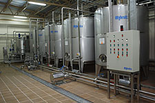 Capacities, tanks corrosion-proof