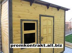 Change houses wooden, gardener-hunter's Lodge
