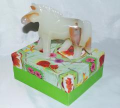 Figurine horse onyx 6