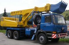 UDS 114 R excavator scheduler